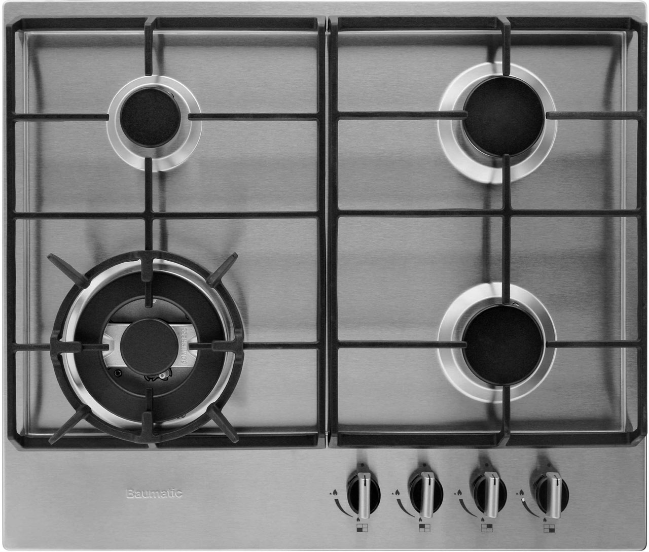 Small gas hob cleaned by Ultra Clean Ovens from £20