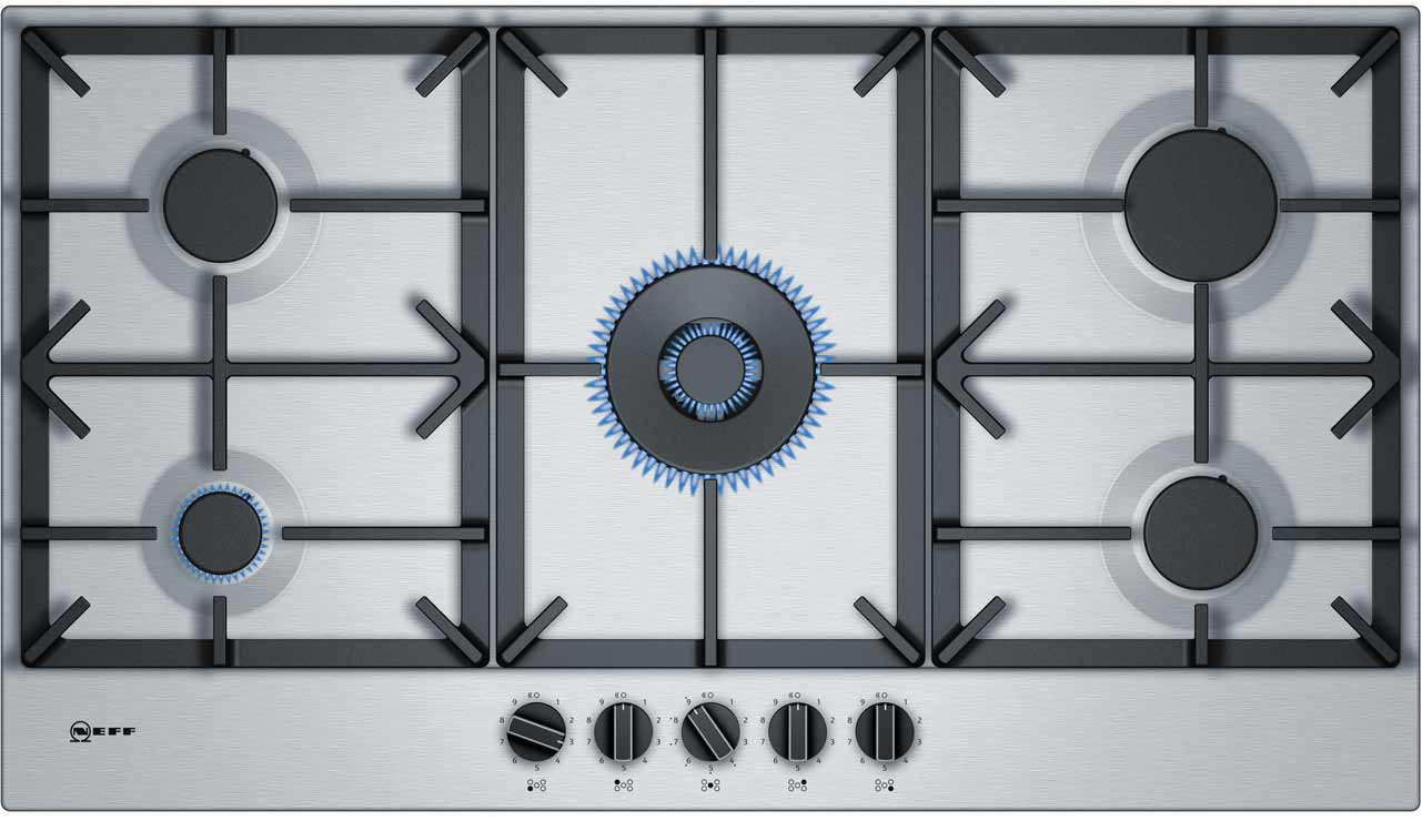 Large gas hob cleaned by Ultra Clean Ovens from £30