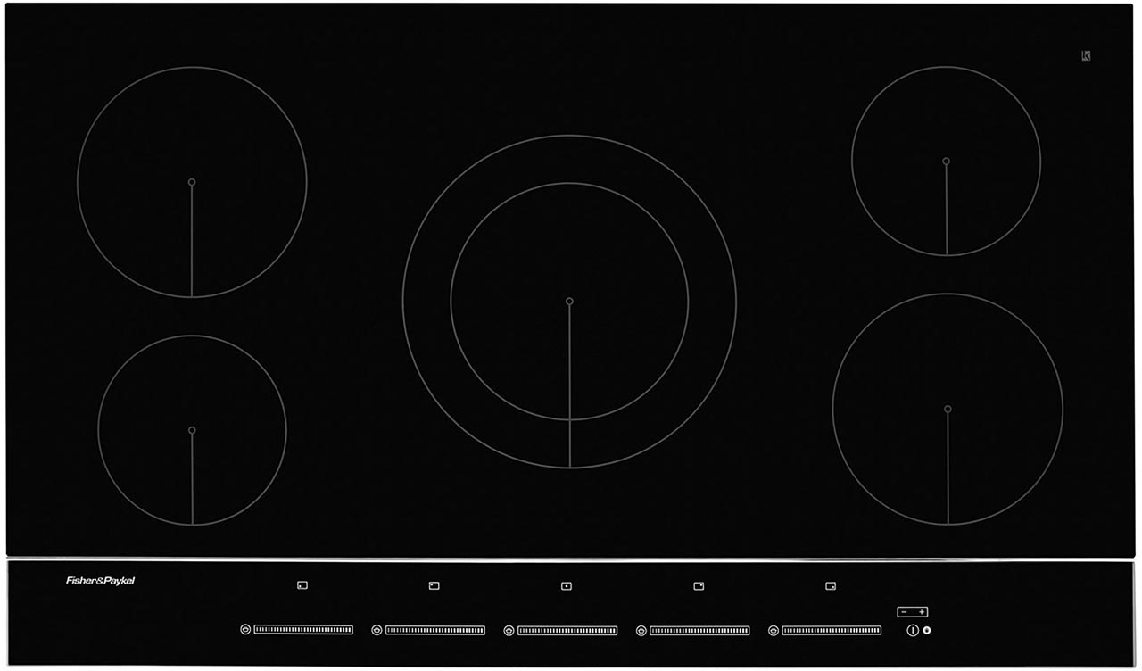 Induction Ceramic Hob cleaned by Ultra Clean Ovens from £15