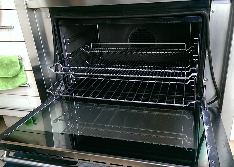 Oven after cleaning by Ultra Clean Ovens