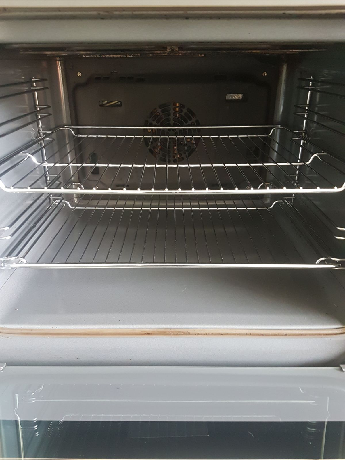 Oven cleaned by Ultra Clean Ovens